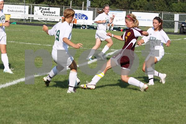 Avon Lake girls Soccer 8-24-11