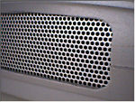 Side grill mesh