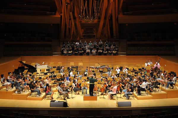 Walt Disney Concert Hall    Palos Verdes Orchestra - June 2008