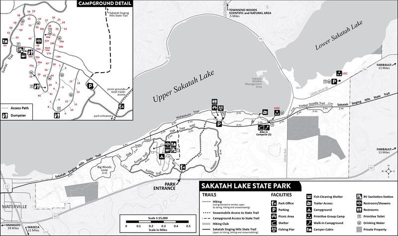 Sakatah Lake State Park