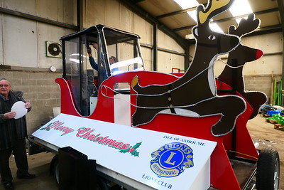 Lions New Santa Float