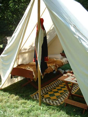 Regimental Tent - Chad's Ford, Pennsylvania