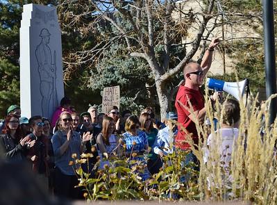 Anti Donald Trump March - Boulder,Co  11/12/16