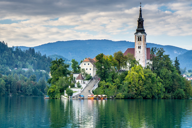 Slovenia: Bled Island