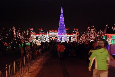 2010 12 19:  Bentleyville Lights, Duluth, MN @ Bayfront Park