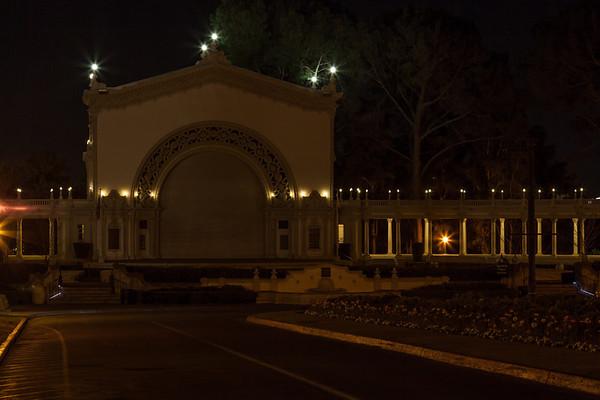 Balboa Park Night - 01-15-2013