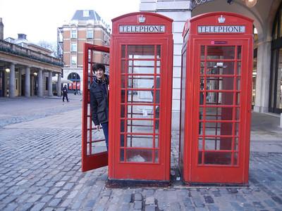 Spencer in London