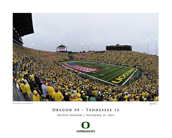 Oregon vs Tennessee (2013)