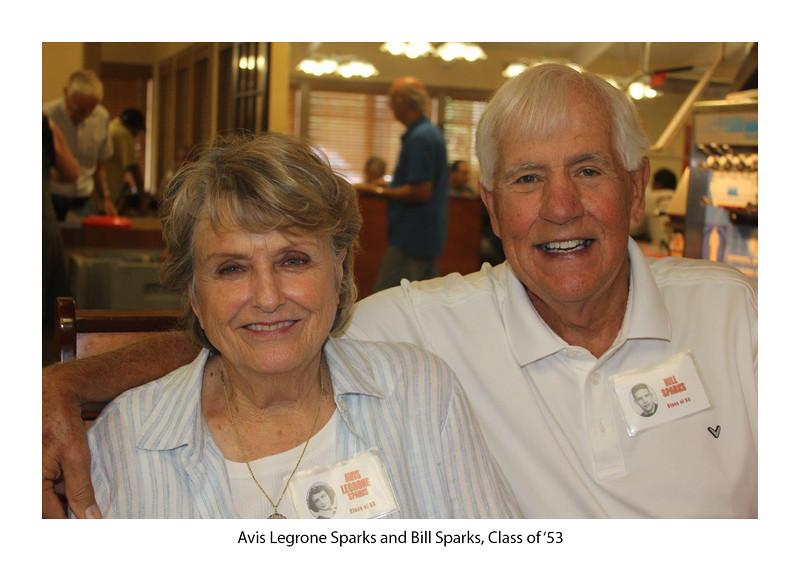 Avis Legrone Sparks '53 and Bill Sparks '53.jpg