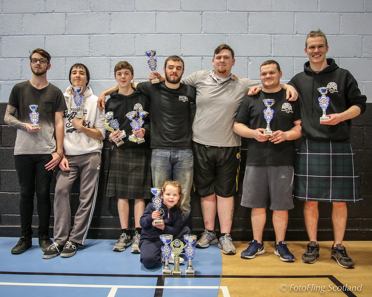 Backhold Wrestling Prize Winners