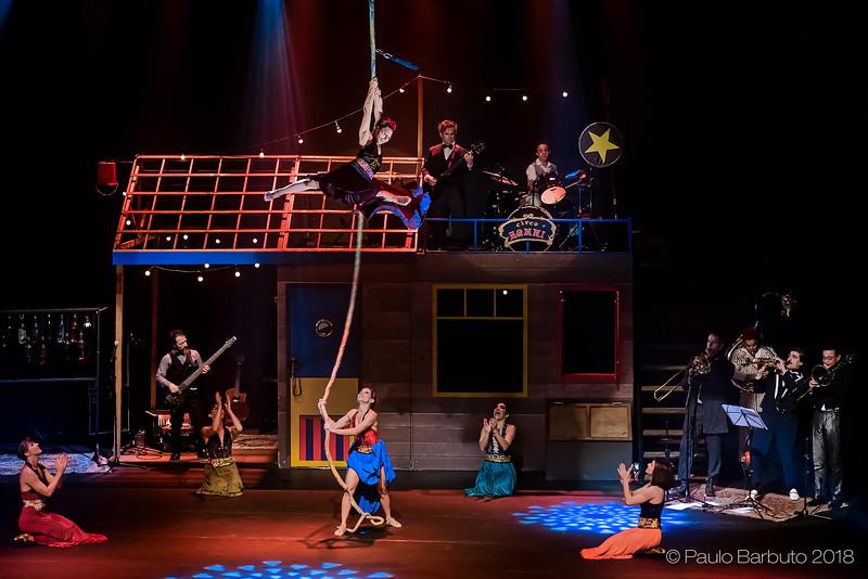 Circo Zanni - Sesc Vila Mariana - Julho 2018
