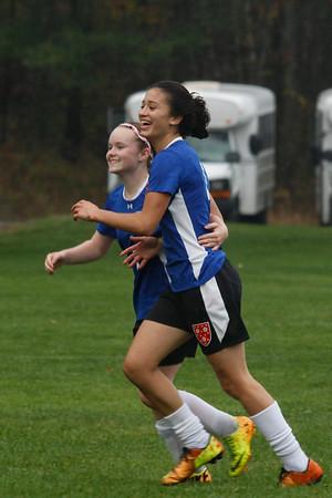 Girls' JV Soccer: October 29