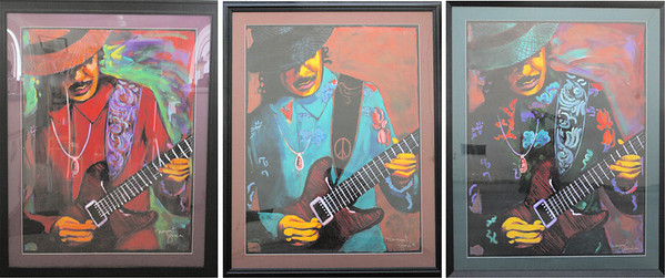 HIGH PRIEST/ SANTANA - 3 - BY MARGARET GARCIA