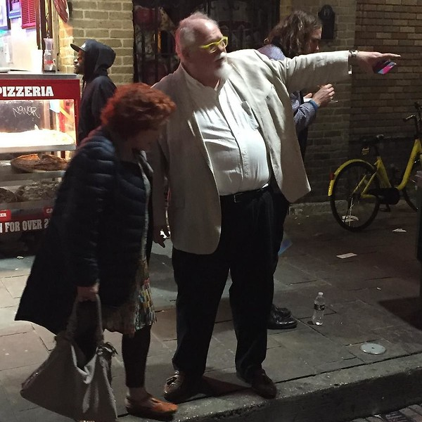 """I think the less drunk people are that way dear."" #sxsw #sxsw2017"
