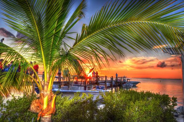 Around Ft Lauderdale - Islamorada - Sunset HDR