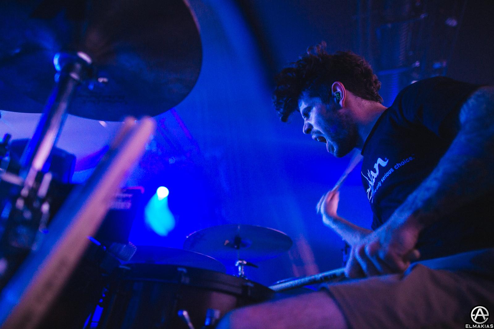 Alex Shelnutt of A Day To Remember - Parks and Devastation Tour by Adam Elmakias