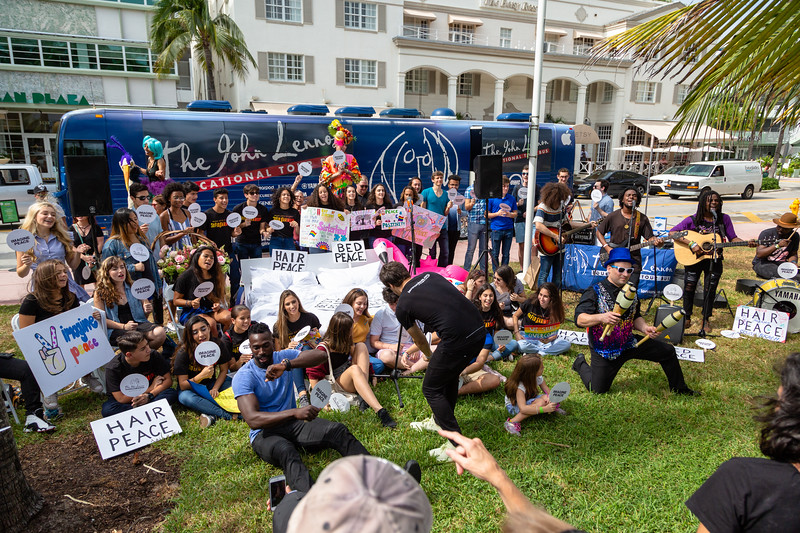 2018_11_03, Beach, Beach Bed In, Bed In, Bed In on the Beach, Blac Rabbit, Bus, Come Together, Come Together Miami, Establishing, Exterior, FL, Florida, Matt Reich, Miami, Miami Beach, The Betsy, The Betsy Hotel