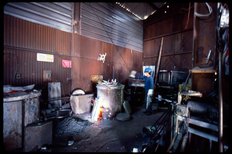 Alphacast Foundry, Inc., Los Angeles, 2005