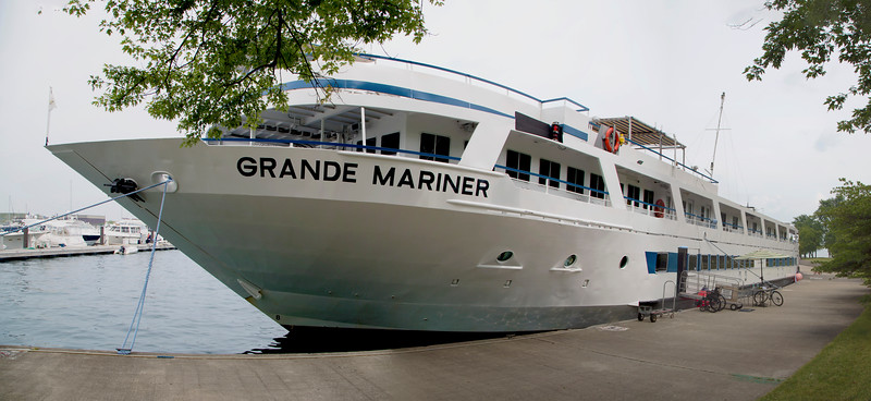 Back at the Grande Mariner, we board it for the week.
