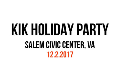 KIK Company Holiday Party 2017