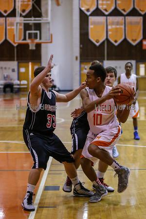Boys Frosh Basketball v Madison 1/23/15