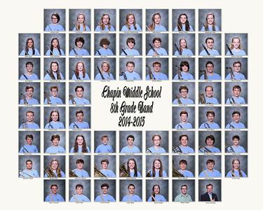 2014-2015 Chapin MS Band