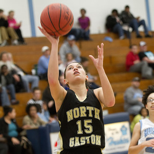 North Gaston at Hunter Huss - 1/24/14