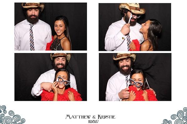 Matthew & Kristie's Wedding (11/18/17)