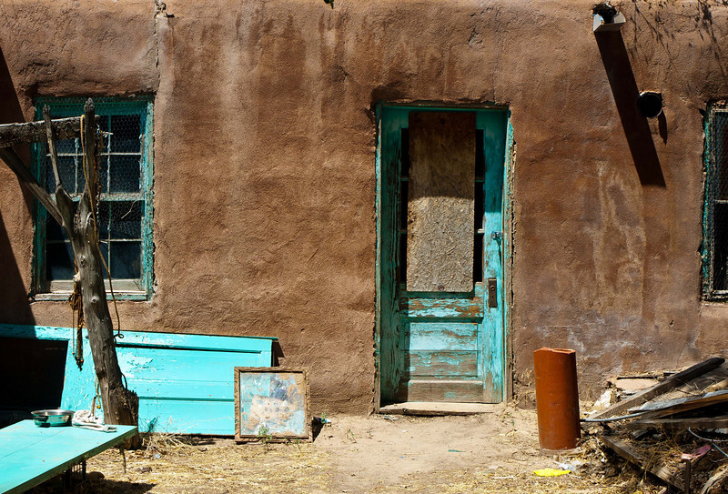 "'Abandon Home'. Pojoaque Pueblo, NM   12""x16"", Luster paper limited edition of 100"