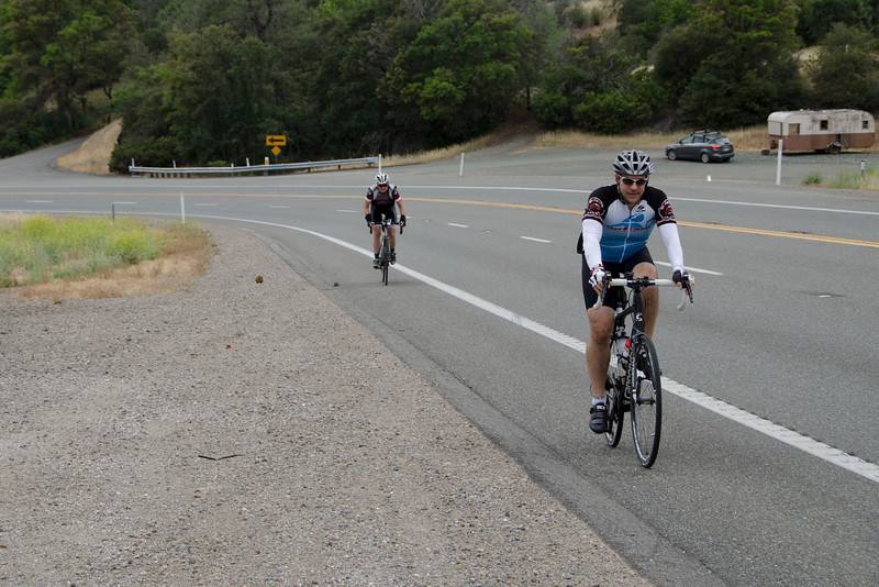 Hwy 20: Grizzly Canyon climb (heading for Resurrection)