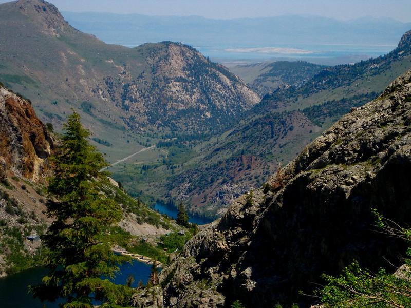 Agnew Lake, Silver Lake and Mono Lake
