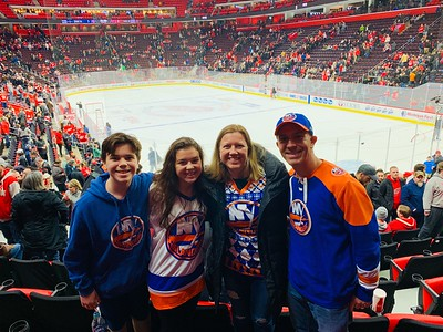 Dec. 8, 2018 - Islanders at Red Wings Game at Little Caesars Arena