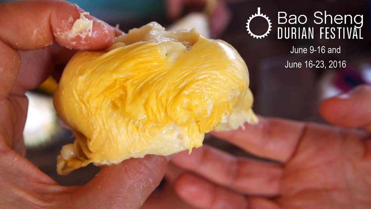 Bao Sheng Durian Festival