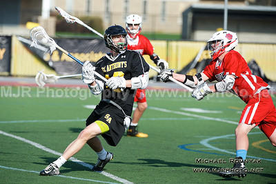 Lacrosse, Boys JV, #13 St Anthonys Vs St johns 04.21.15