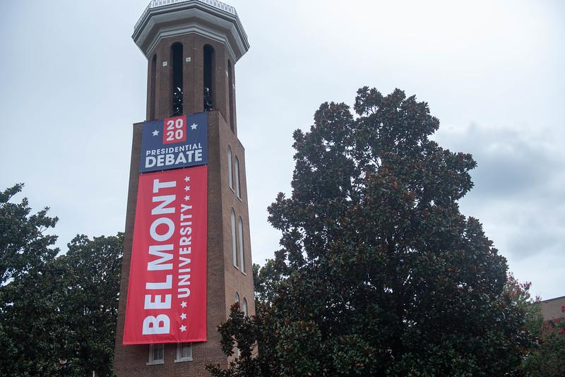 Bell Tower Debate banner