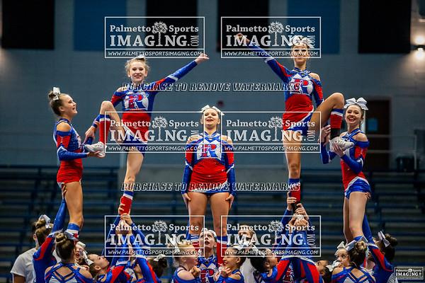 Riverside Varsity Cheer 5A Qualifier