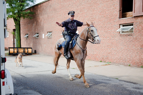 Cleveland Mounted Police Stables
