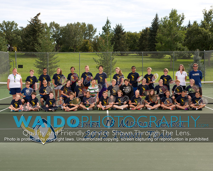 2013 Lesher Tennis