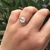 2.39ct Antique Asscher/Square Emerald Cut Diamond, GIA D/IF 23