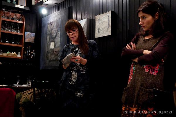 Inaugurazione Mostra Lina Sari