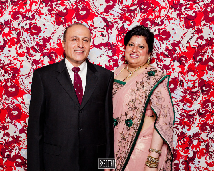 Anu & Naveen's Wedding Booth