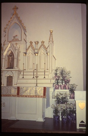 Christ Church construction 1987