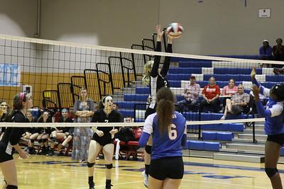 JV Vball vs Parish Episcopal at Parish (10/28/2014)