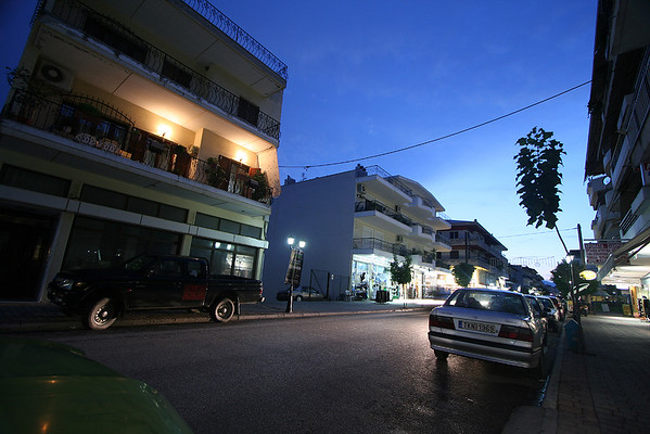 Kalambaka, Greece @ Night I/II - 7/6/2009