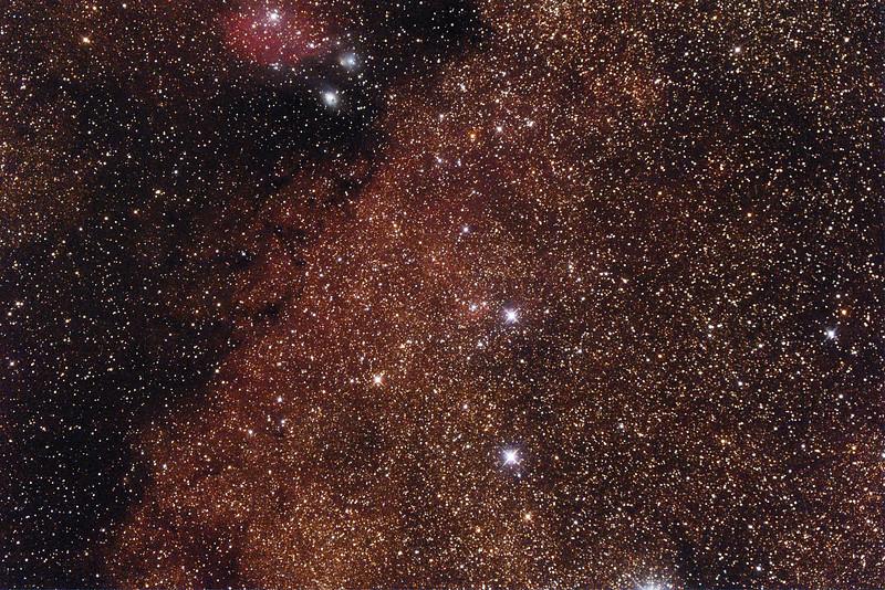 Gum77b Nebula in Sagittarius - 24/9/2014 (Processed single test image)