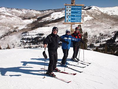 Utah skiing 2012