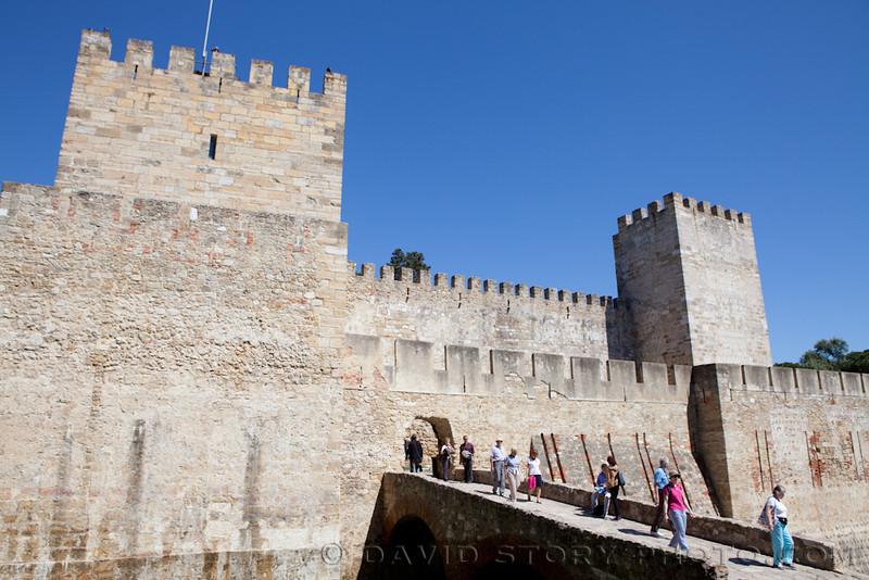 Castle São Jorge. Lisbon, Porgual.