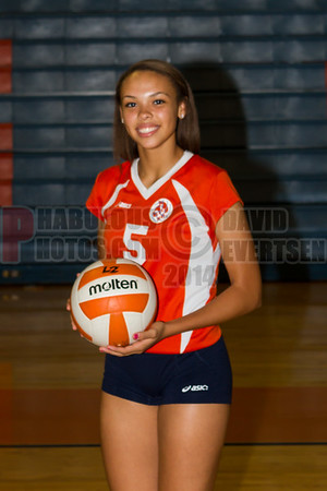 Girls Varsity Volleyball #5 - 2014