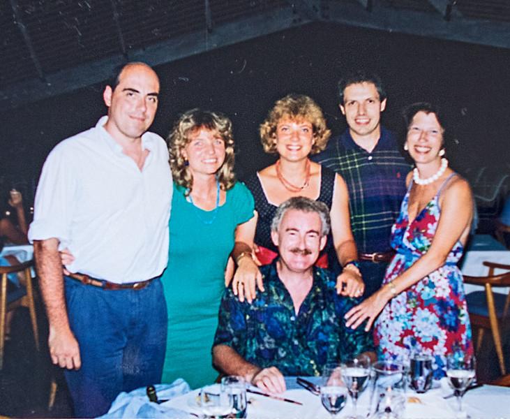 Wedding Pics. Paolo, Cris, Ilaria, Lucio, Mario, Joan at Little Dix Bay, 1993_1.jpg