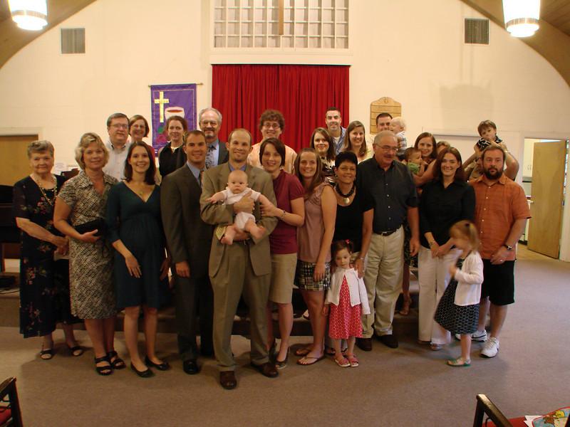 Park Street Christian Church Infant Dedication 2009 July 040.jpg
